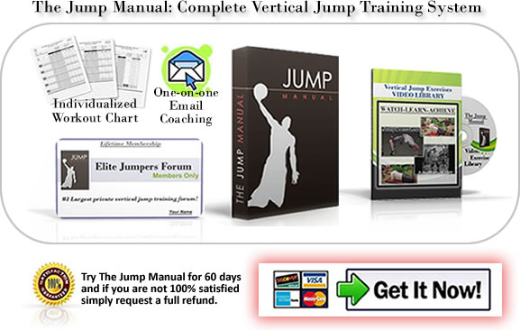 buy the jump manual vertical jump training system the jump manual rh jumpmanual com High Jump Workout Routine Long Jump Workout Routine